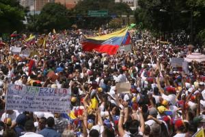 Macha de solidaridad a favor del  líder   político de Voluntad Popula