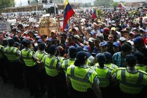 Protestas y más protestas es lo que hay en Venezuela