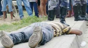 Es común la muerte en las calles de Venezuela. El delito manda y el gobierno fracasa en sus planes